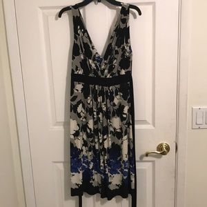 B. Darling juniors floral dress 7/8 Black/grey